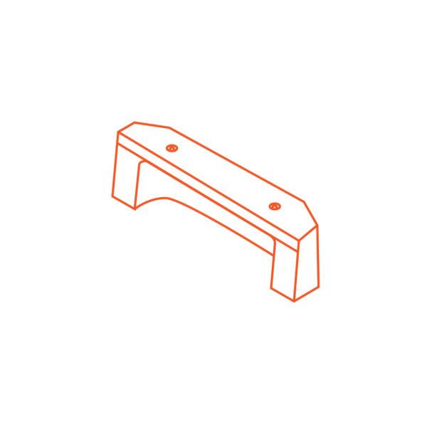 Advanciv precast concrete kerb lintel AKE 1.8