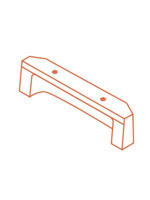 Advanciv precast concrete kerb lintel AKE 2.4