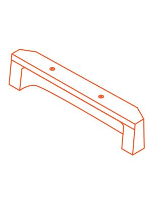 Advanciv precast concrete kerb lintel AKE 3.0